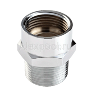 Adapter G 15 / NPT 15 silver