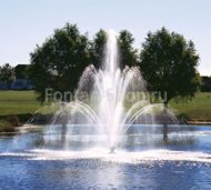 FLEUR DE LIS Nozzle Floating Fountain - Насадка для фонтана